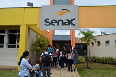 Senac oferece vagas de emprego em oito unidades