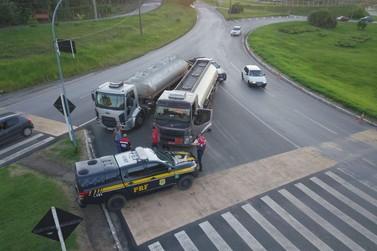 Caminhões tanque são apreendidos com etanol irregular na região