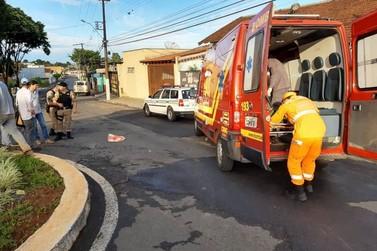 Idoso fica ferido em acidente com bicicleta no Jardim Planalto