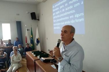 Tadeu Silva se reúne com secretários de saúde para debater cirurgias eletivas