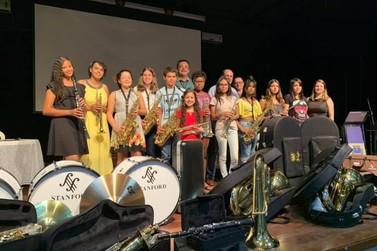 Secretaria de Cultura apresenta Orquestra de Sopro e Banda Marcial de Guaxupé