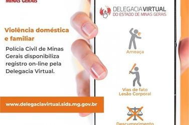 Delegacia Virtual tem opção de registro de violência doméstica e familiar