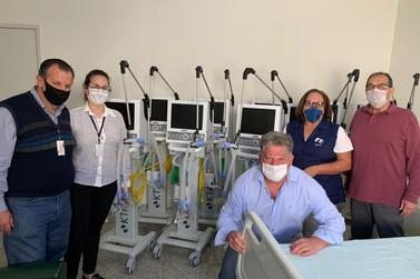 Santa Casa recebe 10 novos respiradores para leitos de UTI