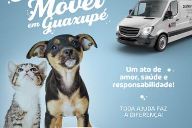 AMA Guaxupé promove campanha para Castramóvel na cidade