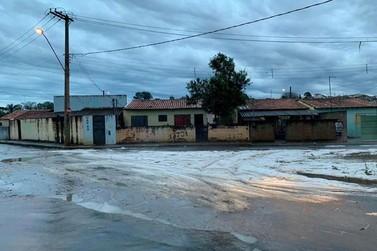Chuva de granizo atinge cidades do Sul de Minas