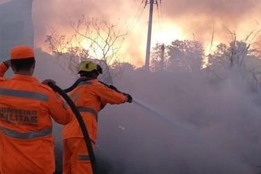 Corpo de Bombeiros registra aumento do número de incêndios em vegetação em 2020