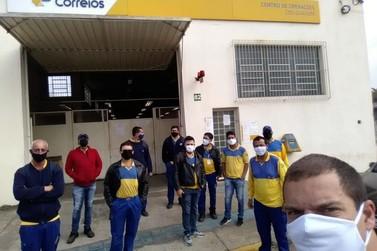 Funcionários dos Correios de Guaxupé e região aderem à greve nacional