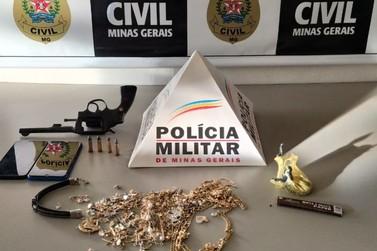 Polícia Civil prende suspeitos por roubo a joalheria