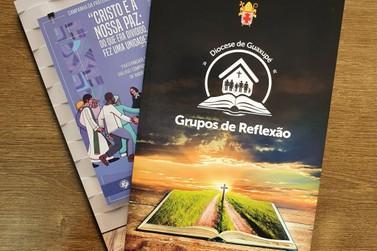 Diocese de Guaxupé lança livro com roteiros para Grupos de Reflexão