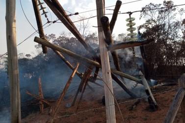 Número de clientes da Cemig prejudicados por queimadas aumenta mais de 350%