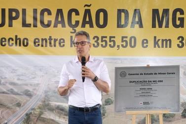 Romeu Zema inaugura obra de duplicação na MG-050, no Perímetro Urbano de Passos