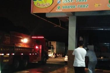 Incêndio atinge pizzaria em Guaxupé