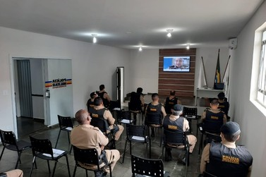PM realiza reunião sobre o policiamento da Eleição 2020