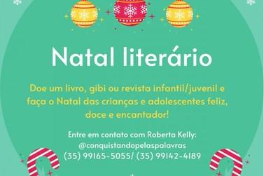"""""""Natal Literário"""" arrecada livros para serem distribuídos a crianças carentes"""