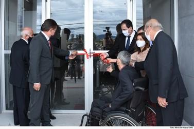 Presidente do TJMG inaugura novo fórum em Guaranésia