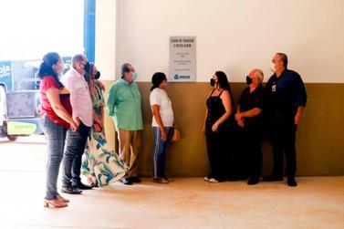 Usina de Triagem e reciclagem é inaugurada em Guaxupé
