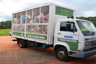 Coleta seletiva deve recolher até sete toneladas de lixo reciclável por dia