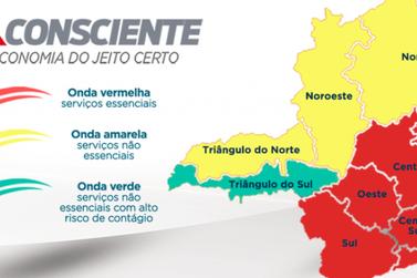 Macrorregião Sul permanece na onda vermelha do Minas Consciente