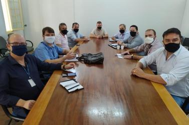 Guaxupé recebe representantes da Gasmig para implantação de estação