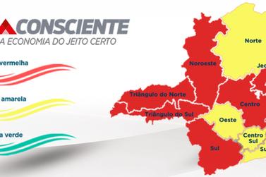 Microrregião de Saúde de Guaxupé progride para onda Amarela do Minas Consciente