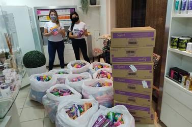 Campanha #EuMeImporto arrecada mais de 12 mil unidades de absorventes em Guaxupé