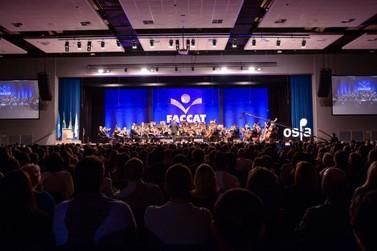 Faccat inaugura Centro de Eventos com a Ospa e encanta o público