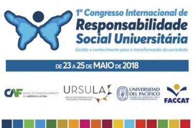 Faccat sediará Congresso Internacional de Responsabilidade Social