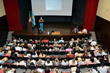 A evolução da educação infantil foi o tema de formação de professores
