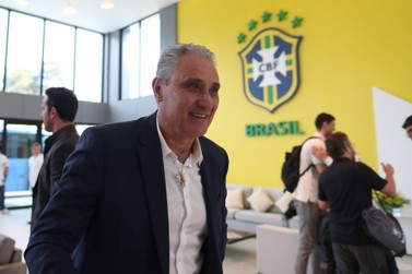 Seleção inicia trabalhos na Granja Comary no Rio