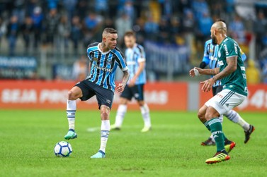 Grêmio perde para o Palmeiras na Arena
