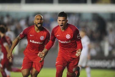 Inter vence o Santos na Vila Belmiro