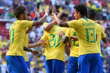 Neymar volta de lesão com golaço na vitória do Brasil sobre a Croácia