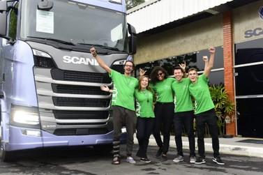Aluno da FACCAT vence o Inovathon Scania