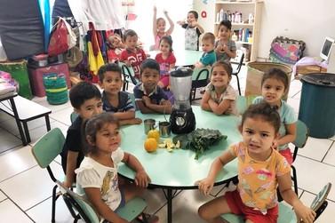 II Semana Municipal da Alimentação promoveu ações nas escolas da rede municipal