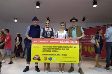 Oktoberfest tem resultado superior a R$ 2 milhões e beneficia 87 entidades