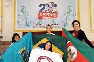 Projeto da Escola Nereu Wilhelms conquista segundo lugar em feira no Peru