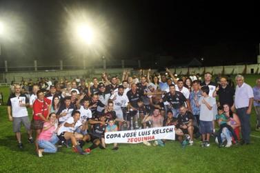 SER Santos é o vencedor do Campeonato Municipal de Futebol de Taquara