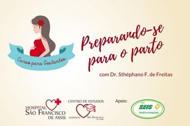 Curso para gestantes no HSFA abordará preparação para o parto