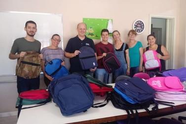 Doações marcam início do ano letivo em Igrejinha