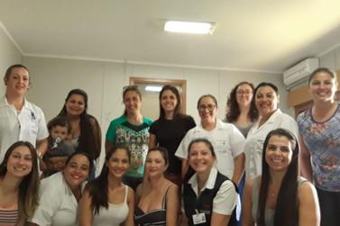 Equipes têm capacitação sobre vacinação no HSFA de Parobé