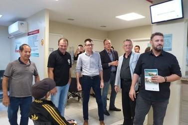 Deputado Estadual visita Hospital Bom Pastor de Igrejinha
