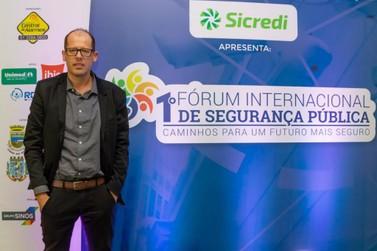 Prefeito de Igrejinha participa do 1º Fórum Internacional de Segurança Pública