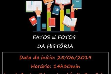 Projeto Fatos e Fotos da História será lançado nesta terça-feira em Taquara