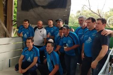 Equipe da Sociedade 1º de Setembro A vence o municipal de bocha de Três Coroas