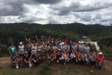 Projeto Esporte Campeão leva alunos para o Parque Nacional de Aparados da Serra