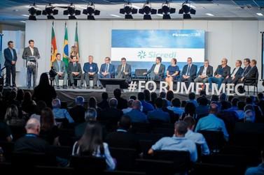 Deputado Dalciso Oliveira participa da abertura da Fimec 2020