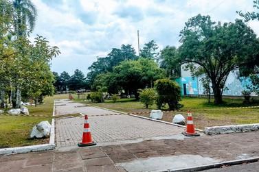 Parque do Trabalhador é interditado devido à falta de colaboração em Taquara