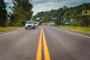 Rodovias estaduais e federais da região têm redução de 90% do trânsito
