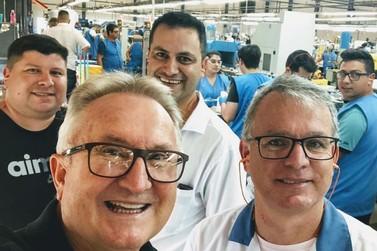 Usaflex inaugura novo trilho de produção em Parobé, gerando 70 novos empregos