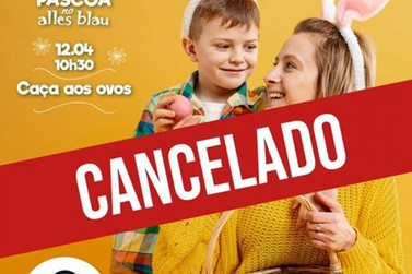 "Alles Blau cancela ""Caça aos Ovos"" no domingo de Páscoa"